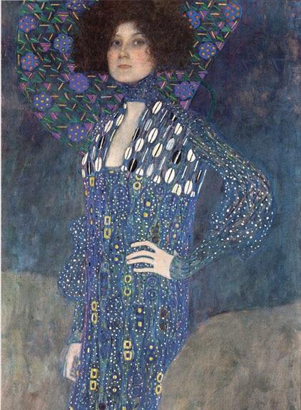 Portrait of Emilie Louise Floge