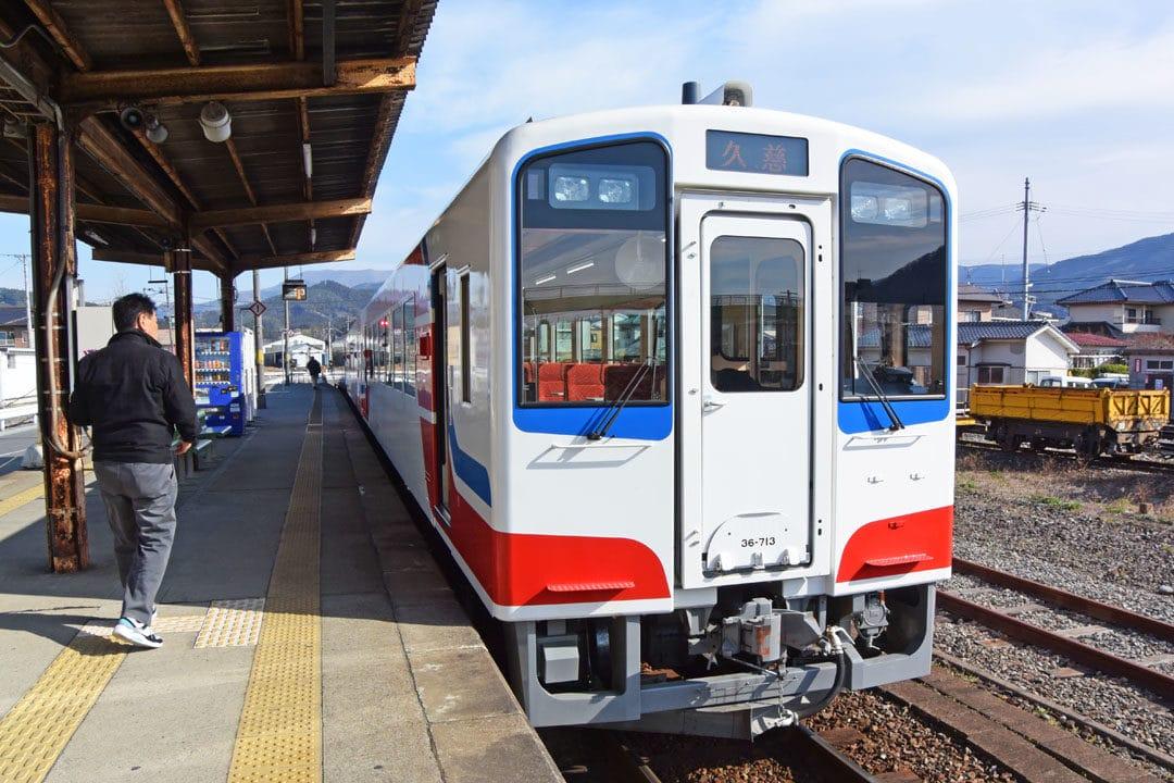 Train of Sanriku Railway Rias Line