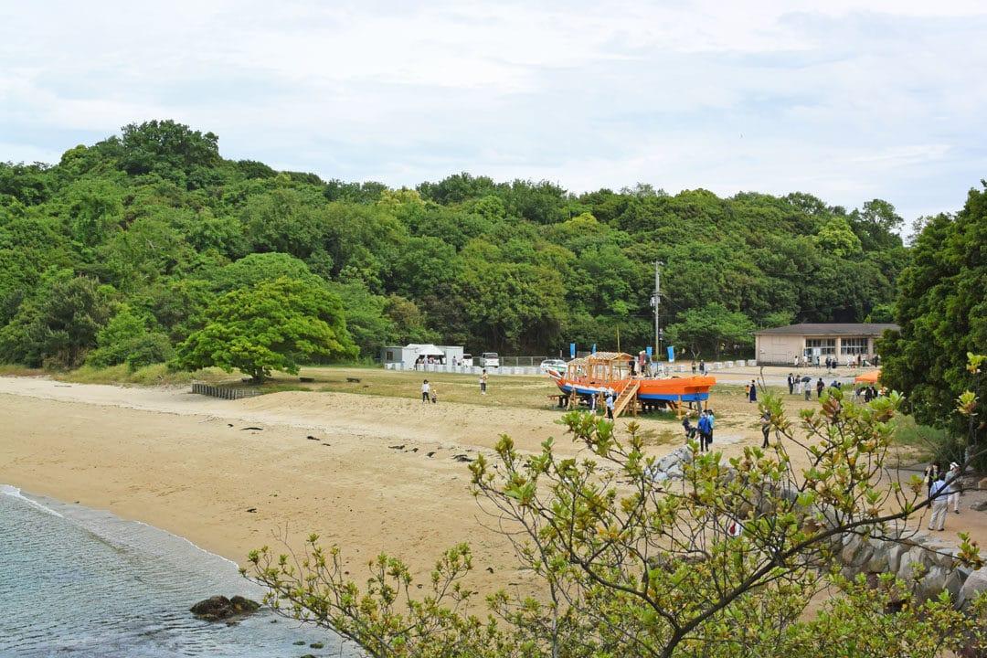 Nakanda Beach of Shamijima