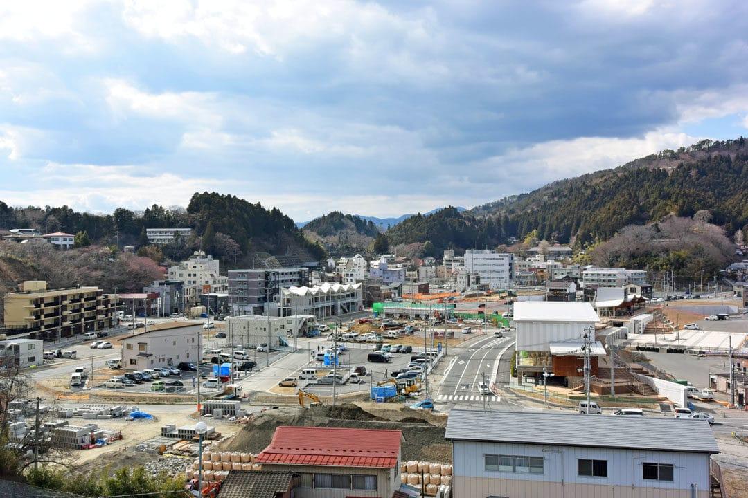 Kesennuma Bird's Eye View