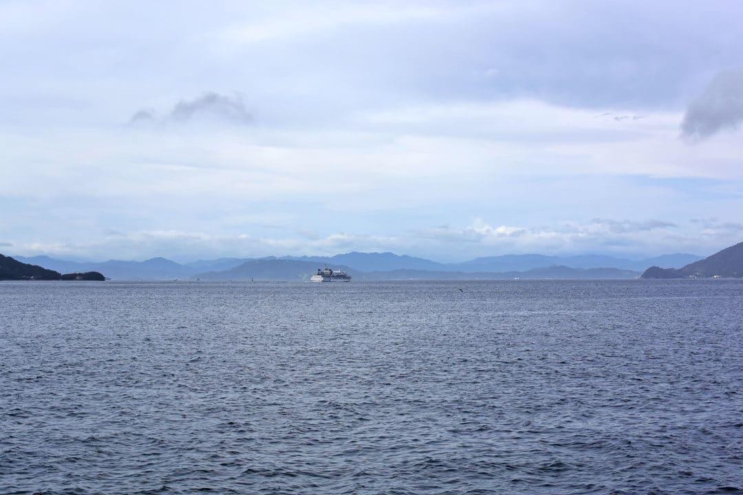 Sailing Ship around Shodoshima