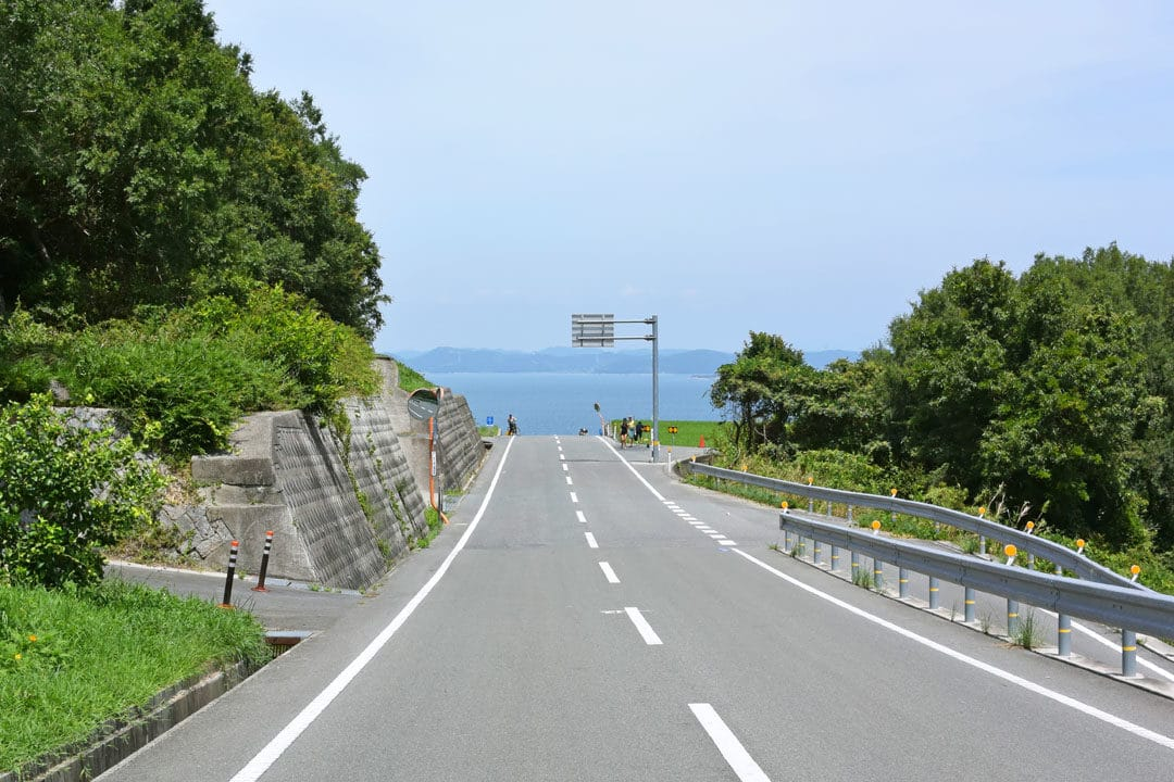 A Road of Teshima