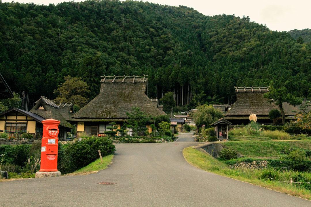 Old Houses in Kayabuki no Sato