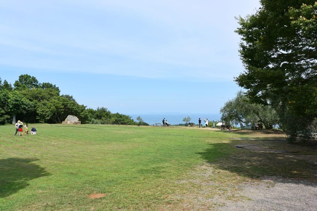Lawn of Ushimado Olive Garden
