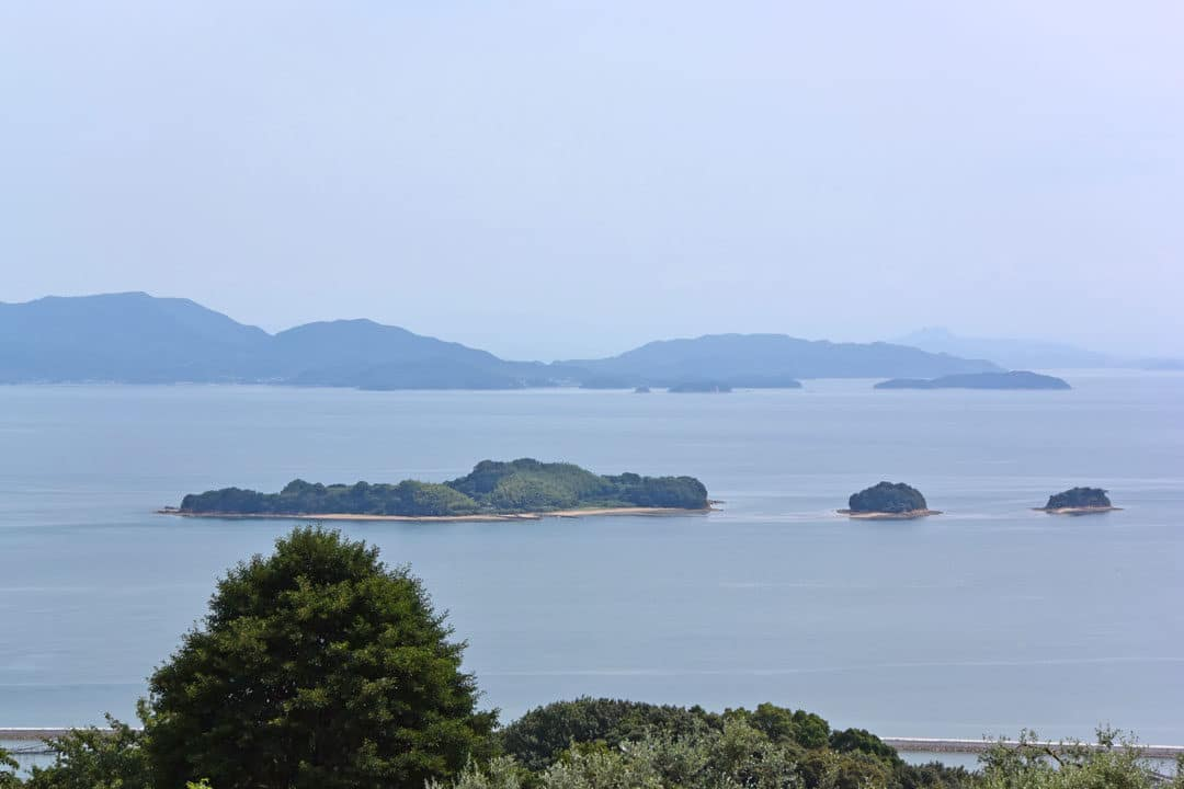 Seto Inland Sea from Ushimado